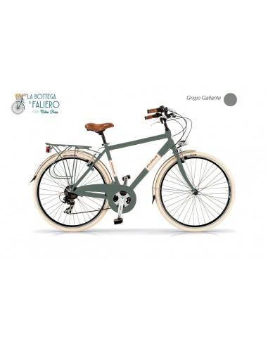 Bicicletta da città uomo Via veneto stile retrò vintage Dolce vita