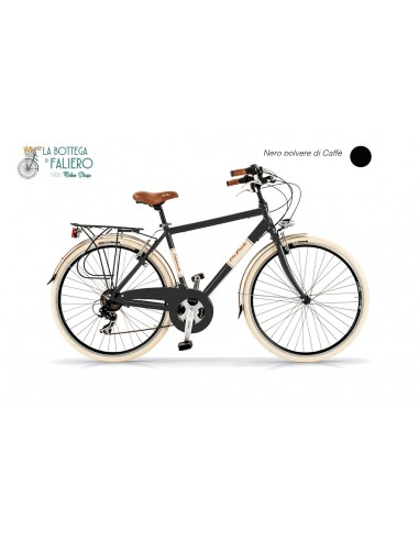Bicicletta Dolce cita uomo Nera elegante Via veneto