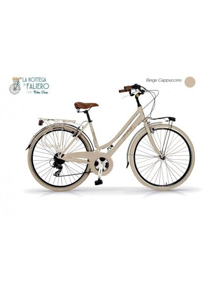 City Bike Donna in Acciaio Elegante Dolce Vita