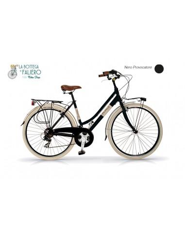 Bicicletta City Bike Donna Dolce Vita Nera Elegante
