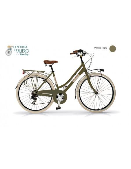Bicicletta Retrò Donna Dolce Vita Verde