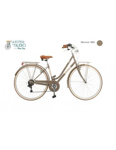 Malagueta City Bike Donna Dolce Vita Elegante con Sella in Pellea