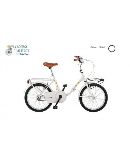 Bici pieghevole city bike da città leggera e robusta via veneto