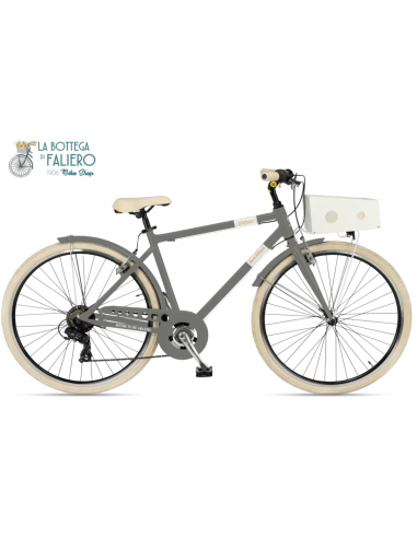 Via Veneto Grigio Gallante Bicicletta da città e mare! Elegante